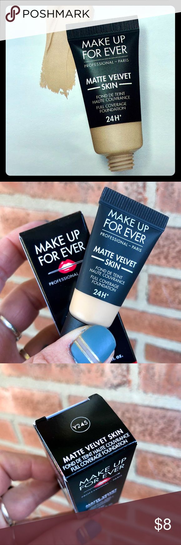 [Make Up For Ever] BNIB Deluxe Matte Velvet Skin NWT (With
