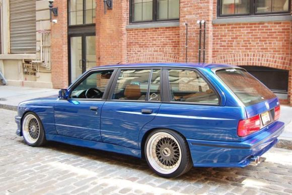 1989 BMW E30 M3 Touring Station Wagon For Sale ... only one like it!