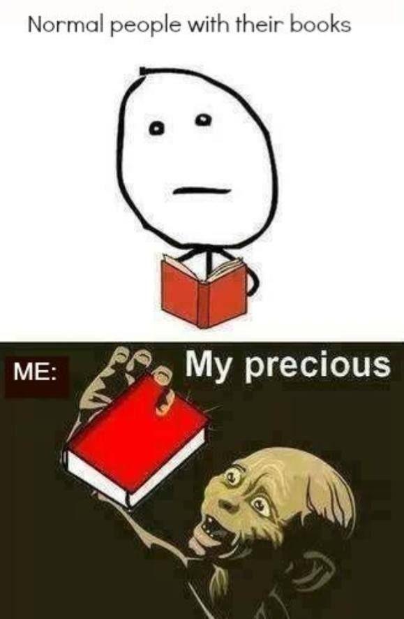 My books My precious