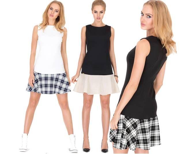 Damen Kleid Minikeid Karomuster Ärmellos Freizeitkleid Rock-Optik Gr. 36 38 40, M188 Jetzt bestellen unter: https://mode.ladendirekt.de/damen/bekleidung/kleider/sonstige-kleider/?uid=34cbd8ff-c7a0-5d54-a1a7-cfb1d39f8cb3&utm_source=pinterest&utm_medium=pin&utm_campaign=boards #sonstigekleider #kleider #bekleidung
