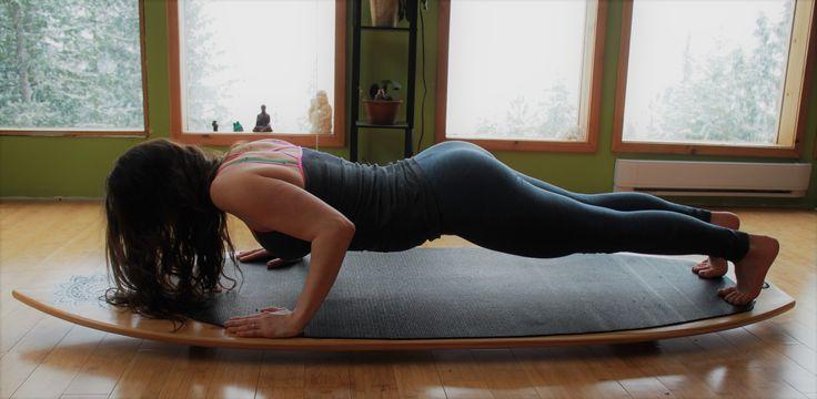Fitness  balance board increasing core fitness