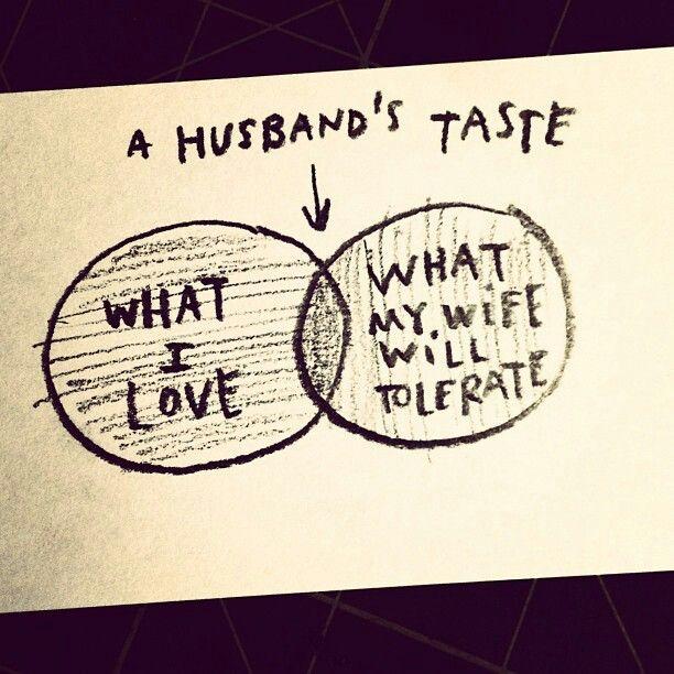 Husband taste