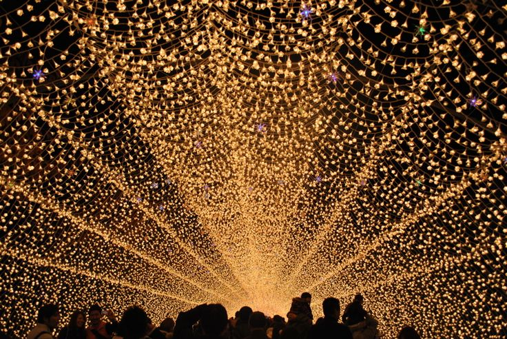 Tunnel of lights, Nagoya, Japan