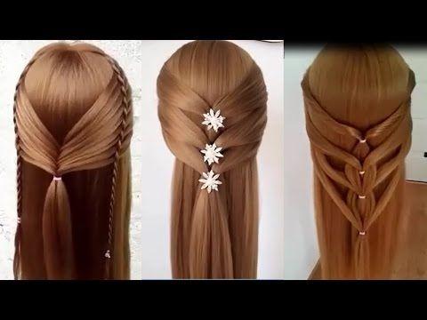 HERMOSOS PEINADOS DE MODA - TRENZAS 2017 #03 / Beautiful Hairstyles Tutorial Compilation 2017 - YouTube