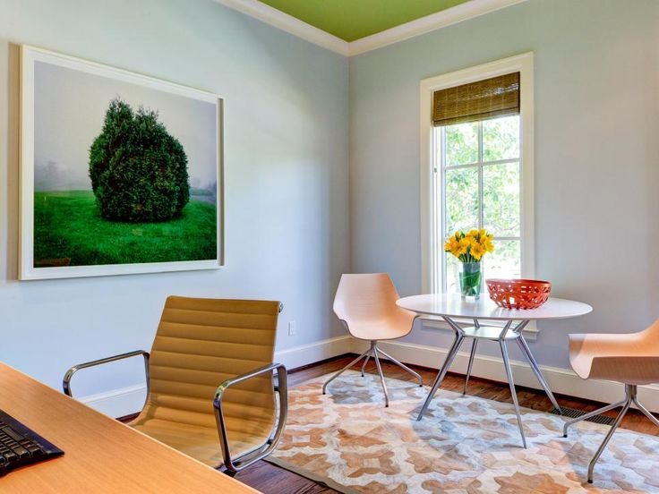 Beautiful Home Design 101 Part - 10: 15 Ways To Give Your Rooms Midcentury Modern Mojo. Contemporary Home  OfficesContemporary DesignModern ...