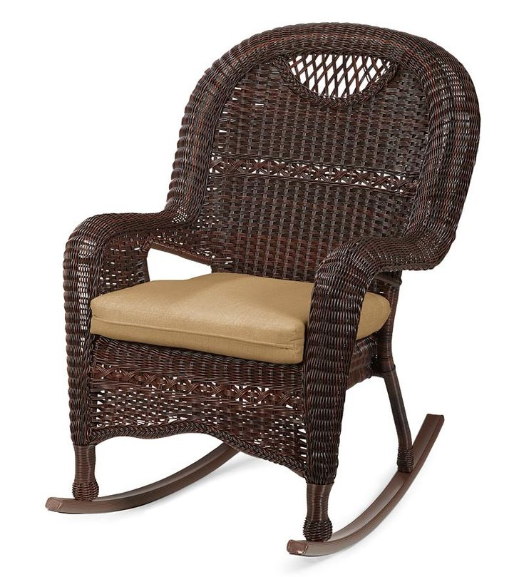 Outdoor Wicker Rocking Chairs Tips U2014 Home Designing