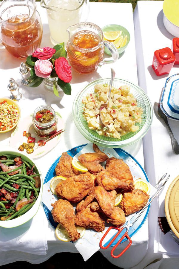 Our Favorite Fried Chicken Recipes: Sweet Tea-Brined Fried Chicken