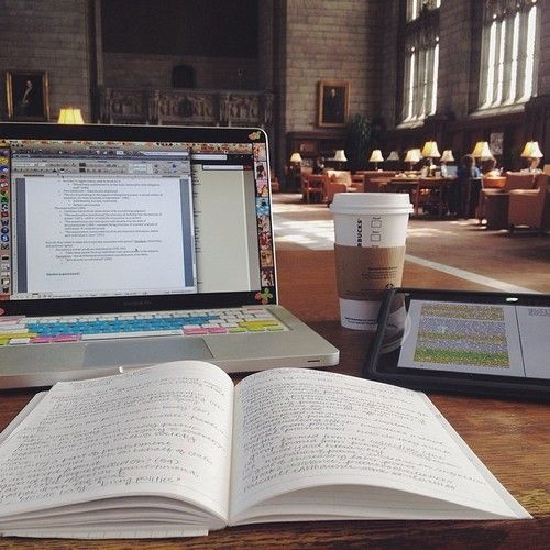 That library is awesome. I would love to study in a place like that.
