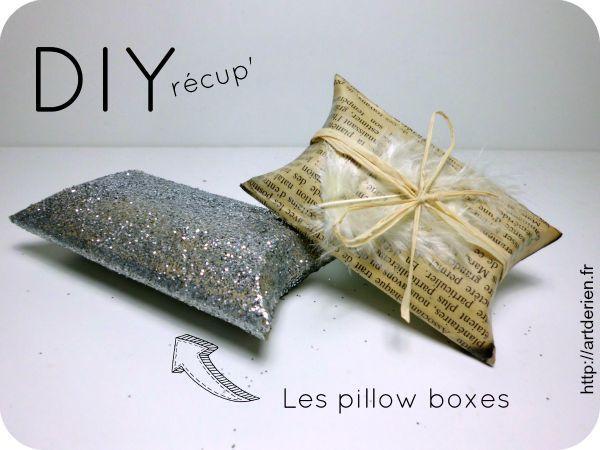 Pillow boxes en rouleau de papier toilette