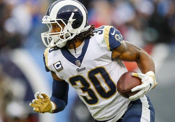 Nfl Week 6 Los Angeles Rams Remain Undefeated Behind Todd Gurley S Big Day Todd Gurley Fantasy Football Rankings American Football