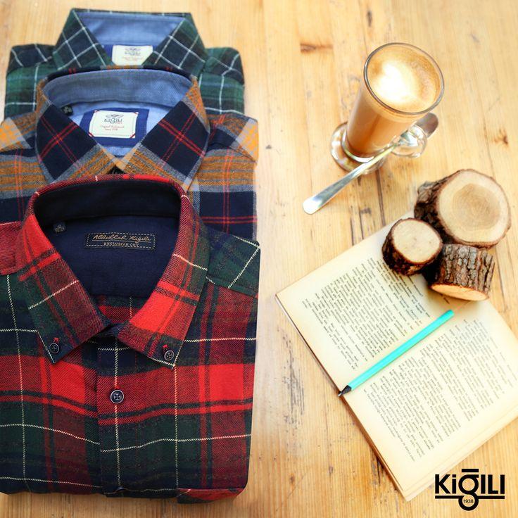 Pazar keyfinize eşlik edecek oduncu gömlekler Kiğılı mağazalarında sizleri bekliyor!