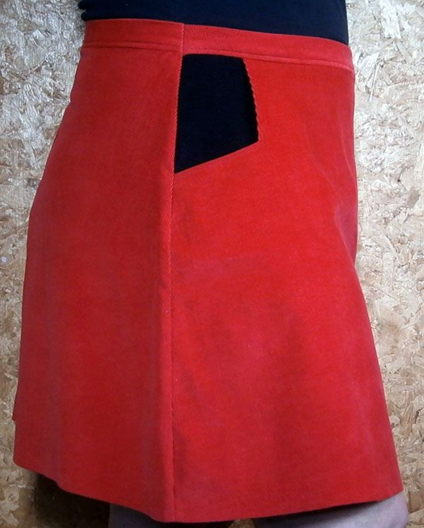 Show Some Flare Skirt by So Sew Easy.  My blog post at: http://thepatterntester.com/2014/11/27/taking-care-with-flare/