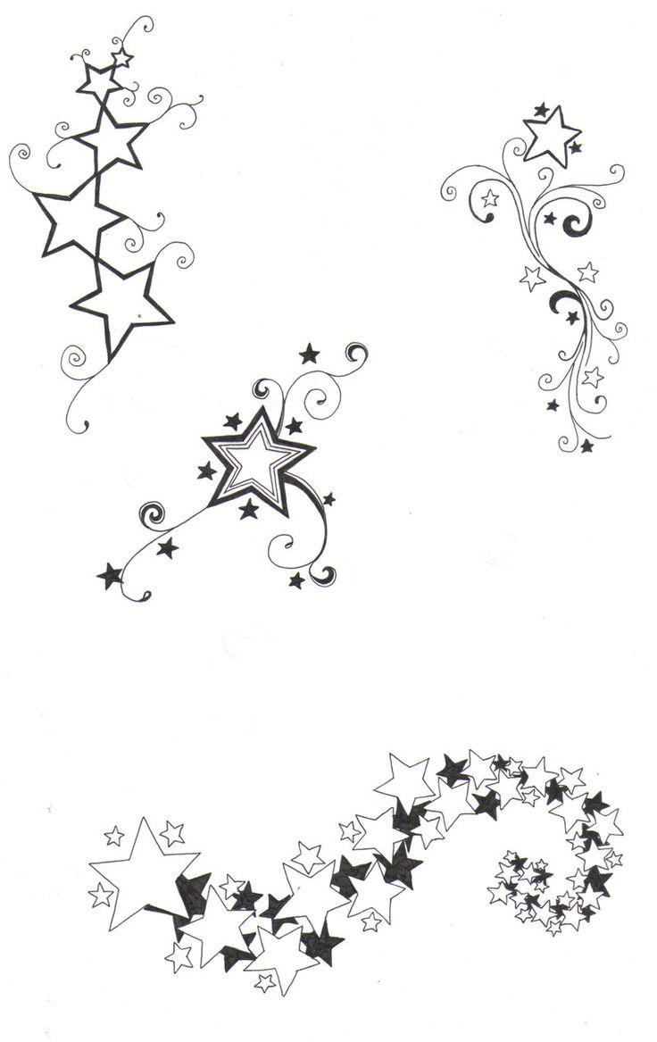Star designs by crazyeyedbuffalo.deviantart.com