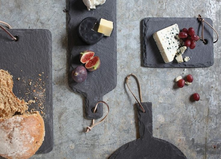 ODISHA SLATE PLATES Use these lovely slate serving plates as a cheese board or serving solution for antipasti or cakes. They have a lovely weighty feel and make an excellent gift for foodie types.