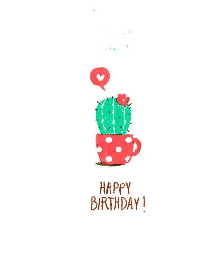 Happy birthday! #cactus #succelent