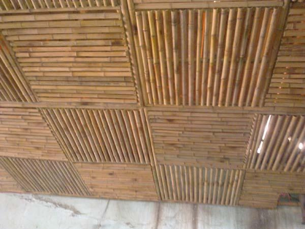 Someone I Know Would Really Love This Bamboo Ceiling