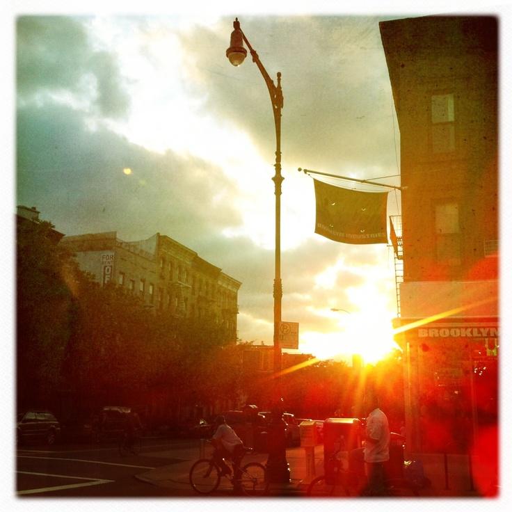 Sunset. BK Style.   © Emily Rickard