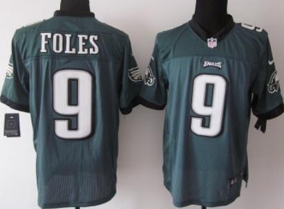... czech nike philadelphia eagles 9 nick foles dark green elite jersey  1c041 ea552 663ec33de67e