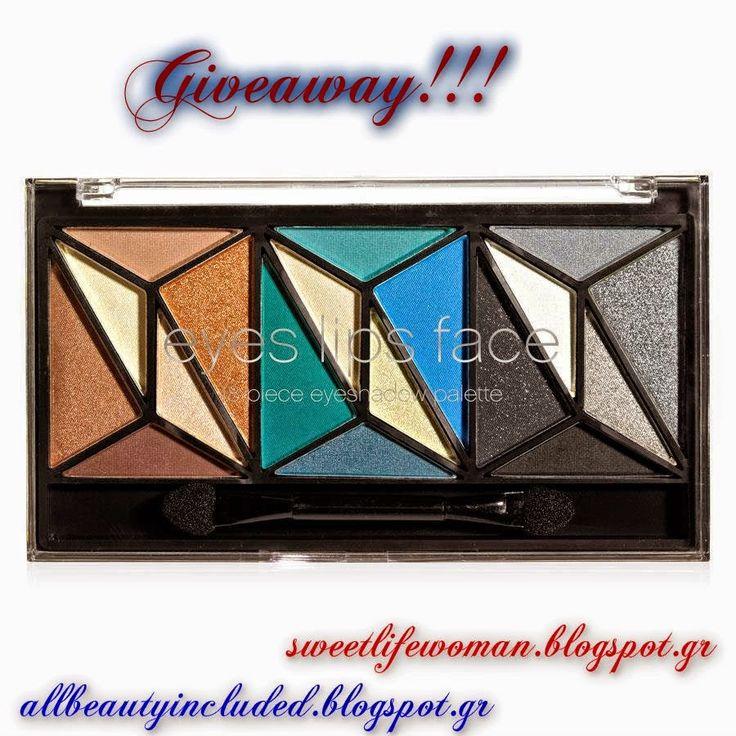 It's my life By Tina Michaelidou: Giveaway με δώρο παλέτα σκιών ELF Cosmetics!!!