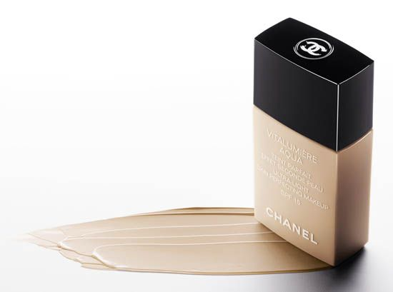 Chanel Vitalumiere Aqua Foundation If you can get away with just applying concealer (and no foundation), you should—right? Wrong.