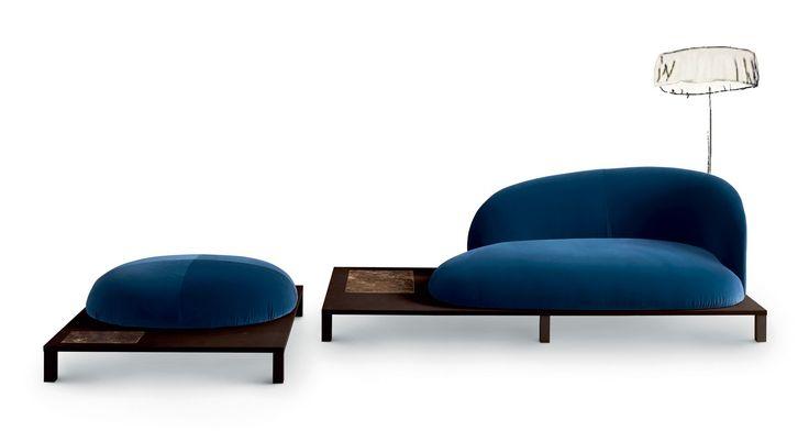 Bonsai by Claesson Koivisto Rune for Arflex, Salone Del Mobile 2016   #Milantrace2016