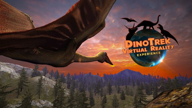 IPHONE: DinoTrek VR Experience by Geomedia, Inc. -