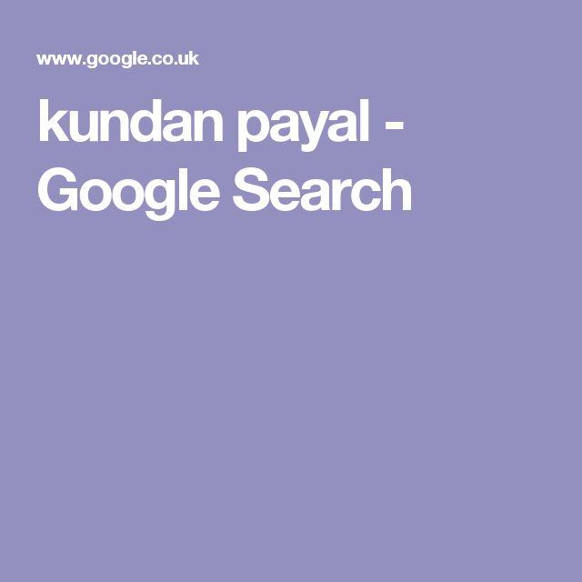 kundan payal - Google Search