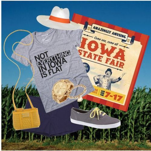Iowa State Fair Outfit from my new blog an Engineer's Guide to Fashion