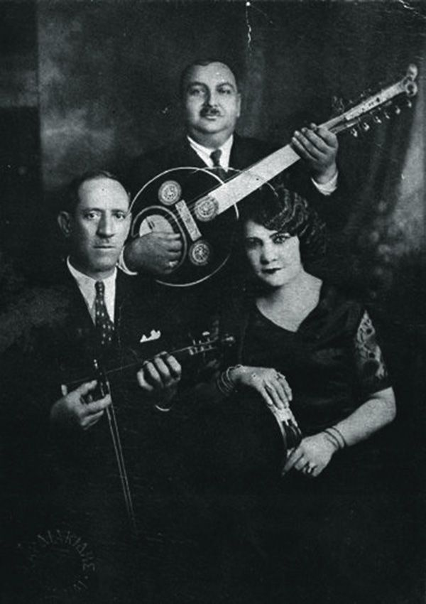 Rebetiko singer Rosa Eskenazi (1890s-1980) #Greece