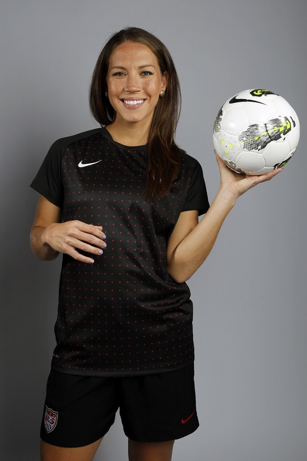 Soccer Player Lauren Cheney Poses For A Portrait During The 2012 U S Olympic Team Media Summit