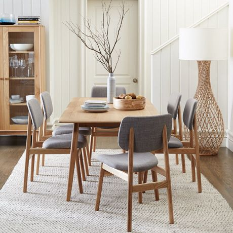 Larson dining table & chairs from Freedom Australia
