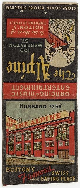 The Alpine [Exterior] by Boston Public Library, via Flickr