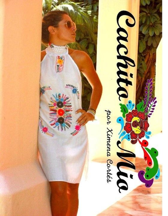 CACHITO MIO POR XIMENA CORTES MEXICAN DRESS
