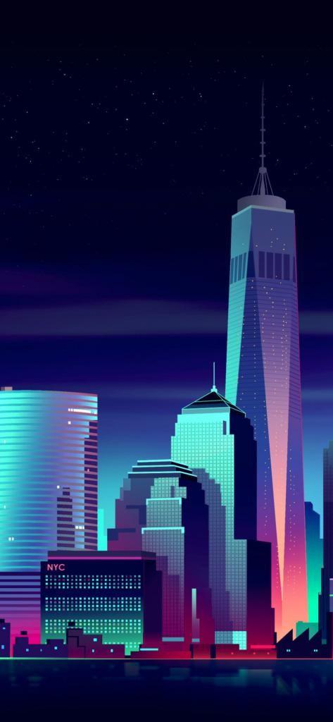 4k Iphone X Wallpaper Newyork City Minimalism 4p 11252436 4k Hd