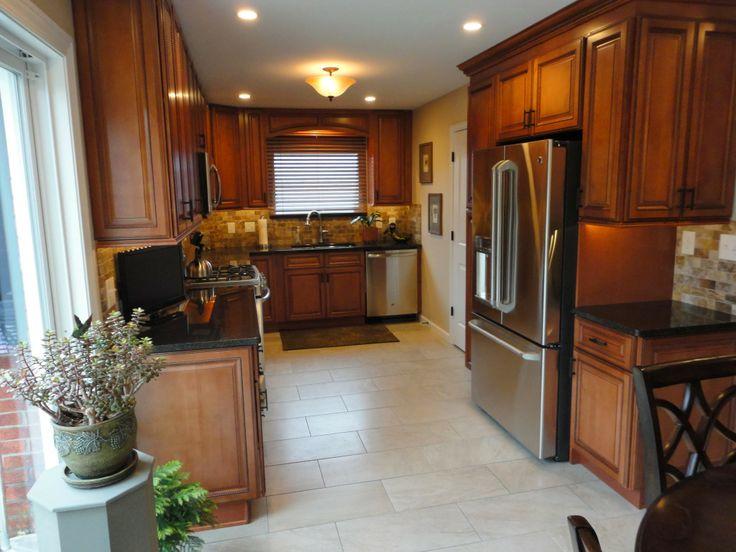 Sienna Rope kitchen cabinets  David R Kitchen Transformation  Pinte