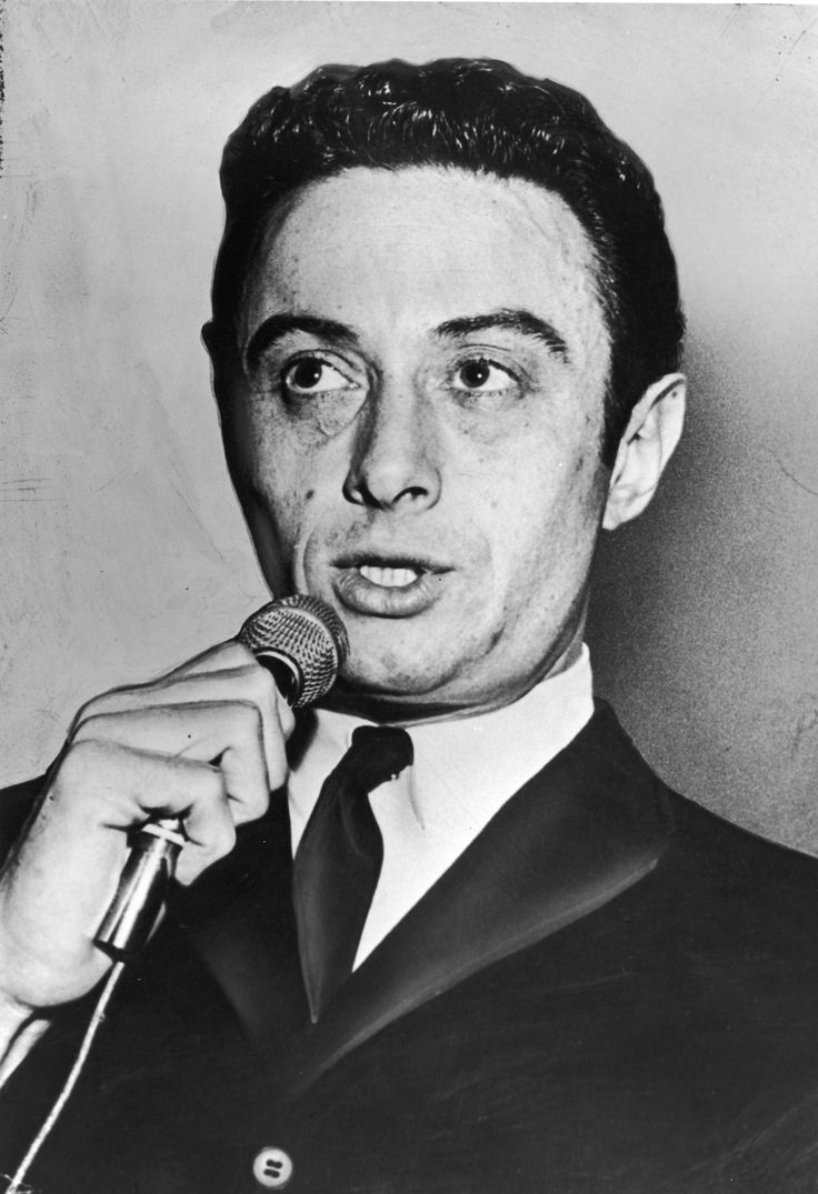 Lenny Bruce 1925 - 1966. 40; stand-up comedian, satirist. Autobiography How to Talk Dirty and Influence People 1972