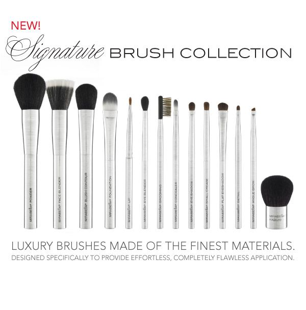 rachel zoe loves #mirabellabeauty #brushes #makeup