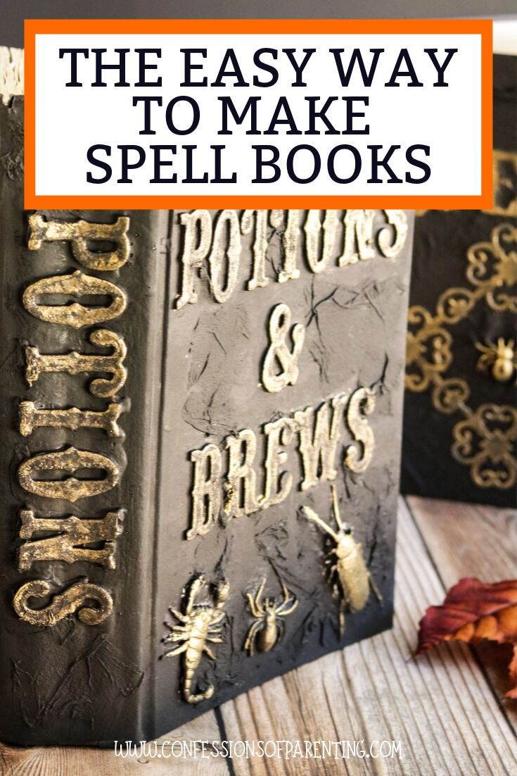 DIY Spell Books: The Easy Way! Are you a lover of decorating for Halloween? Well…