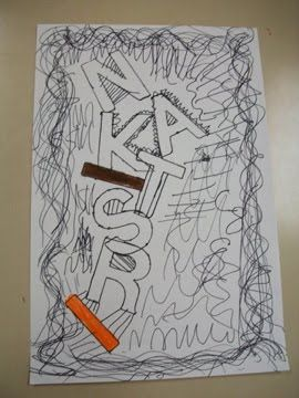 The inspiration for this lesson came from Deep Space Sparkle's Name Line Drawing It's another name design for the beginning of the year. I ...
