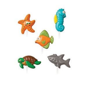 Wilton Sea Creatures Candy Chocolate Mould