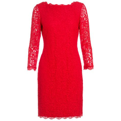Adrianna Papell Lace Sleeve Dress