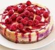 Valentine's baking recipes:  Baked raspberry cheesecake