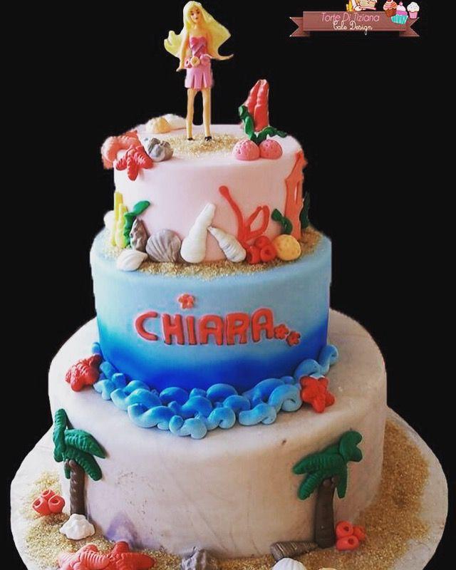 Torta barbie aloha