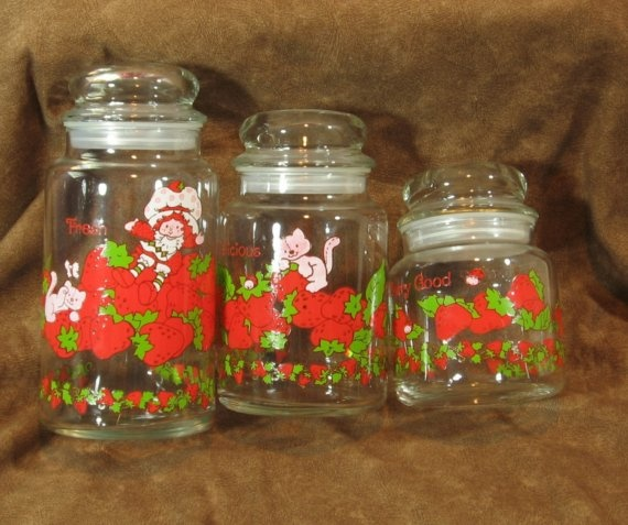 Strawberry Shortcake Canister Set