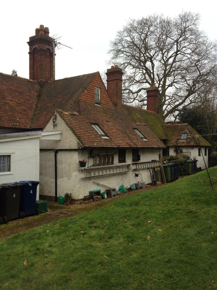 Almshouses, Little Gransden, South Cambridgeshire.