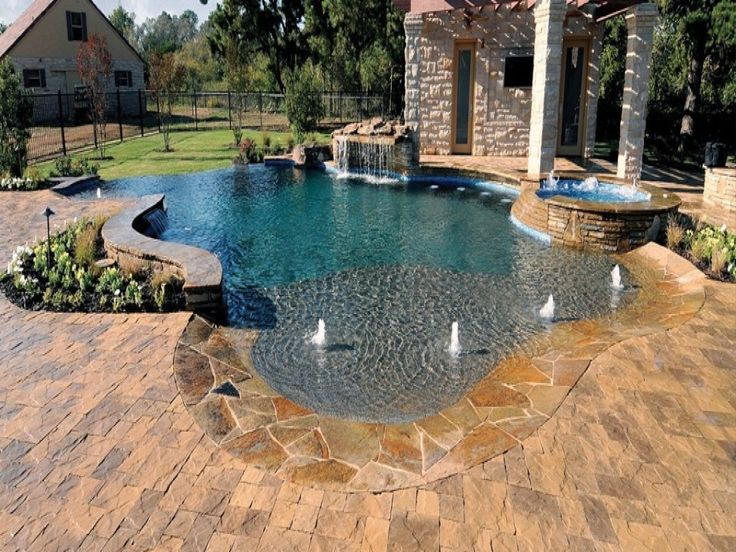 The Best Pool Deck Paint Ideas - http://paint.terredarte.net/the-best-pool-deck-paint-ideas/ : #HomePainting Pool deck paint – protects the surface from the damage of time and pool chemicals while improving its overall appearance. Pool deck gets more foot traffic and weather and chemical damage than any other part of the outside of the house. The two materials most commonly used in pool deck, ...