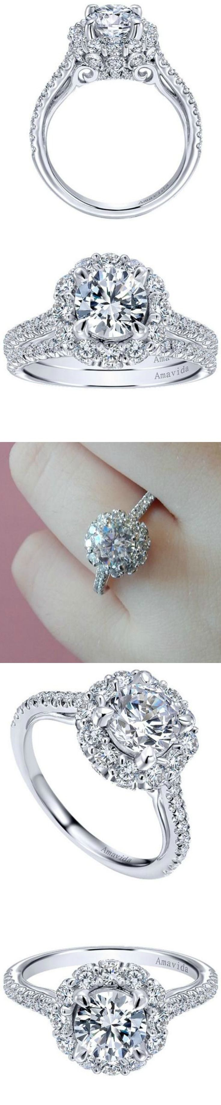 Amavida Diamond Engagement Ring from Gabriel and available at Ben Garelick http://ss1.us/a/SRI61axo