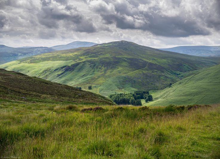 Wicklow Mountains, Ireland.