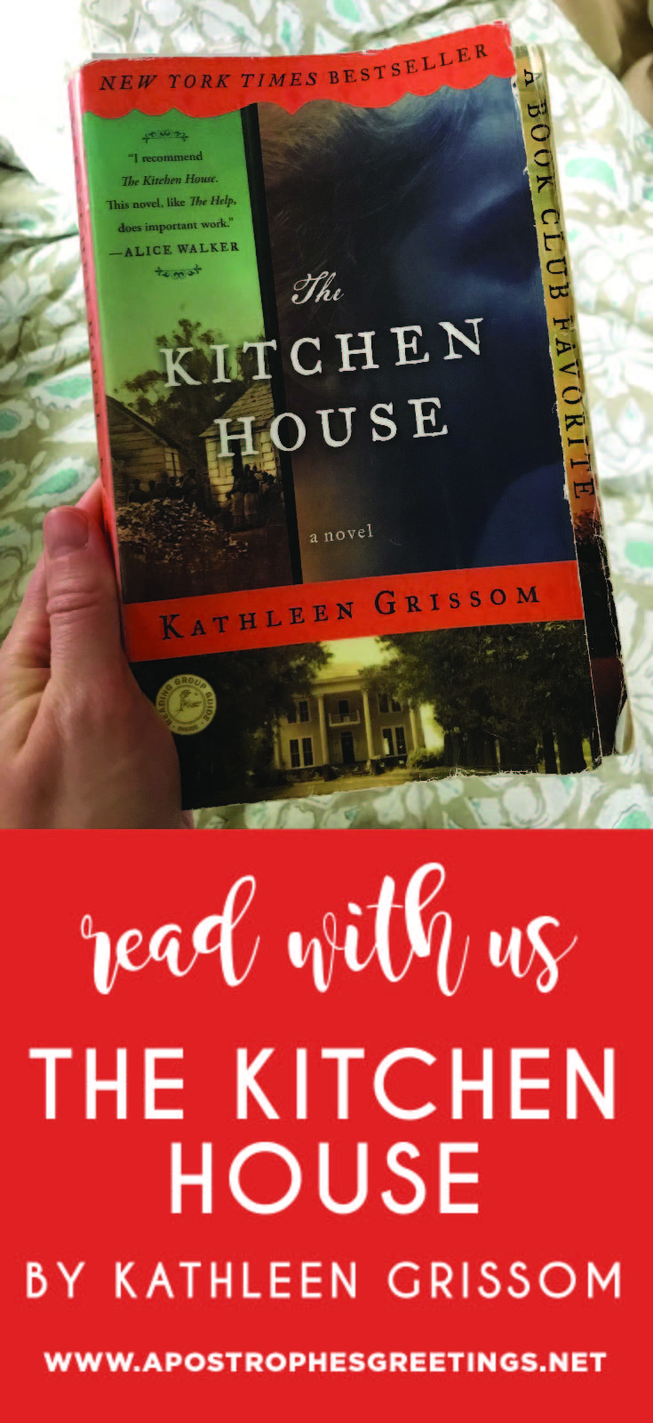 Read The Kitchen House with our online book club!