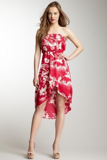 Tube Keyhole Front Dress.